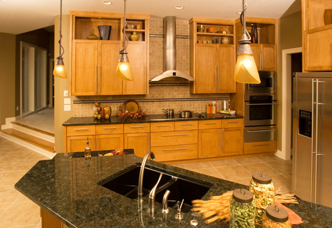 Granite-Kitchen-Countertop-black-modern-cabinets.jpg Superb Stone
